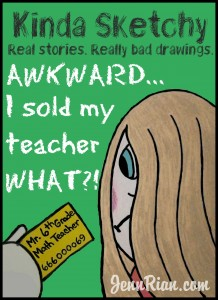 The time I sold my 6th grade math teacher something really #awkward (jennrian.com)