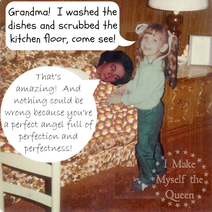 The time I scrubbed the kitchen floor